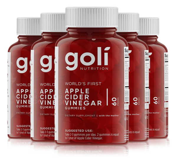 Goli Gummy - Apple Cider Vinegar Gúmmí